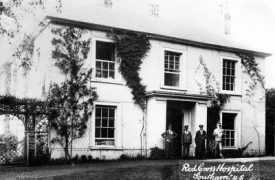 The Grange, Southam, as a hospital. | Image courtesy of Southam Heritage Collection