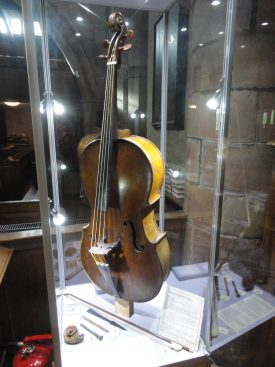 The Berkswell 'Cello, restored to 'display' standard. | Image supplied by Alastair Dymond
