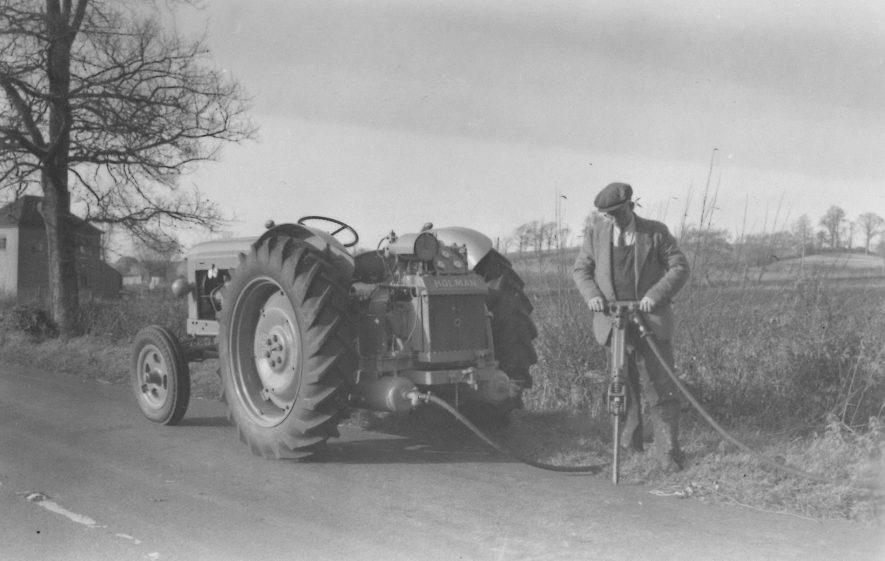 A Fordson E1A Major and Holman