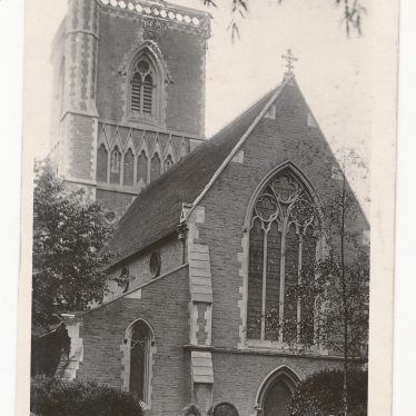 Holy Trinity church, Rugby.   Image courtesy of Niall Guiver