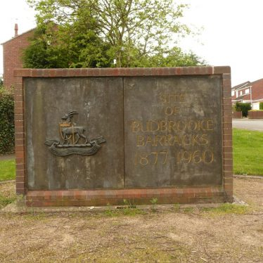 Budbrooke Barracks Monument