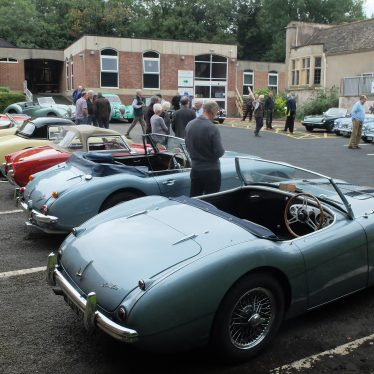 Starting at the Healey Works
