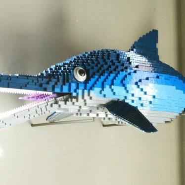 The Market Hall Museum's Lego Ichthyosaur