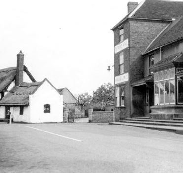 Chetwynd Arms in the square, Polesworth. | Image courtesy of Neville Upton