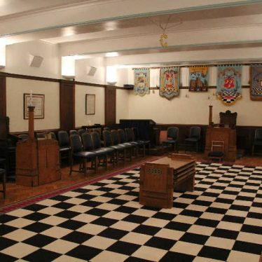 Inside Nuneaton's Masonic Hall