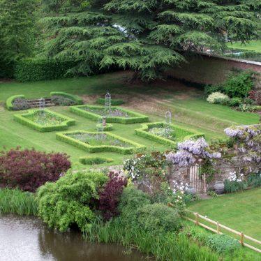 Maxstoke Castle 19th century extent of park/garden, Maxstoke