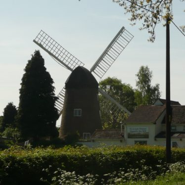 Berkswell Windmill, 2017. The image is to the rear of the mill. | Image courtesy of William Arnold