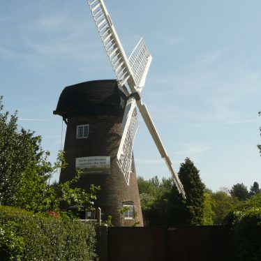 Berkswell Windmill, 2017. The image is to the side. | Image courtesy of William Arnold