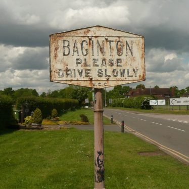 Located before the Baginton Oak, this