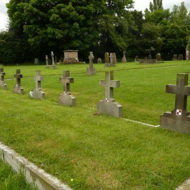 308 Polish Squadron graves at St. John Baptist churchyard, Baginton. 2017. | Image courtesy of William Arnold