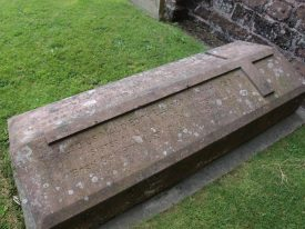 The grave of Maud Watson, buried with her parents at Berkswell. It reads