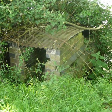 Water wheel located between the 1st and 2nd of the 3 fishpools at Newnham Hall. It appears to be relatively recent and resembles a turbine. Perhaps it was part of an early 20th century electricity generating system? | Image courtesy of William Arnold