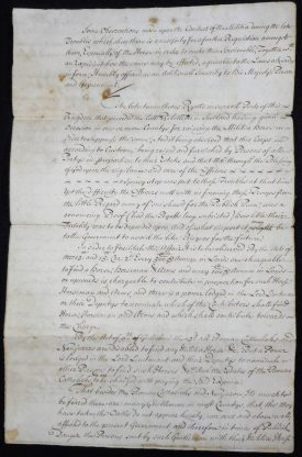 George Lucy's Observations on the Warwickshire Militia. | Warwickshire County Record Office reference L6/1638