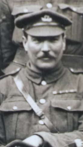 Regimental Sergeant Major Edward Joseph Pratt, 10th Warwickshire Regiment. | Image courtesy of Colette Benson