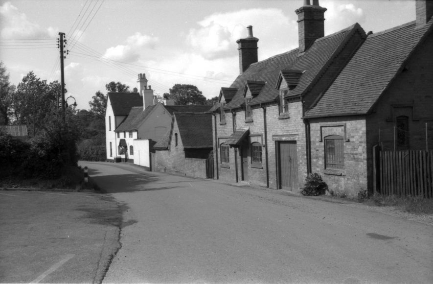 Old Forge and Norton Paddox Farm, Norton Lindsey. 1967. | Warwickshire County Record Office reference PH212/42/11. Part of a photographic survey of Warwickshire parishes conducted by the Women's Institute.
