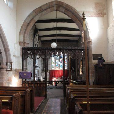The 15th century oak chancel screen. | Image courtesy of Caroline Irwin