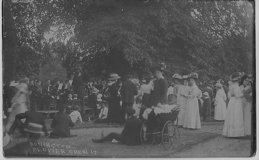 Honington Flower Show, 1917. | Image supplied by Mr and Mrs Walker