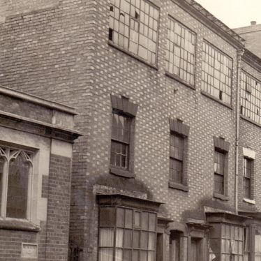 In January 1943, these two houses next to the church were purchased for £425 to provide more building land for the new church. | Image supplied by Kath Allton