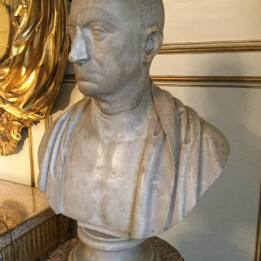 Bust of Scipio Africanus | Image courtesy of Warwick Castle
