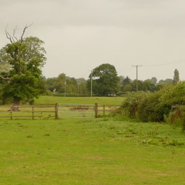 Loking northerly from the A428 south of Bretford (note the Electricity poles) | William Arnold