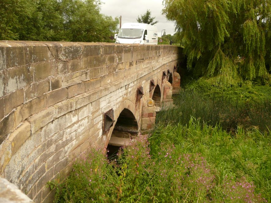 Bretford bridge east Side | William Arnold