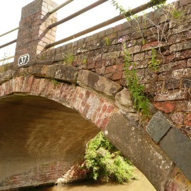 General aspect of canal bridge near Hungerfield. | Image courtesy of William Arnold