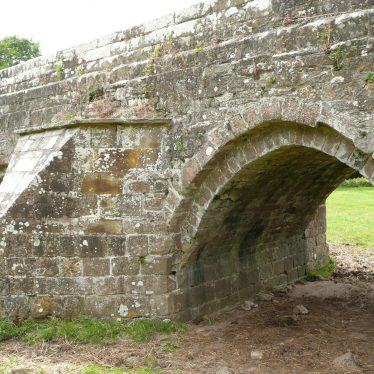 One of the arches of Stare Bridge, Stoneleigh; each of which is slightly different. 2017. | Image courtesy of William Arnold
