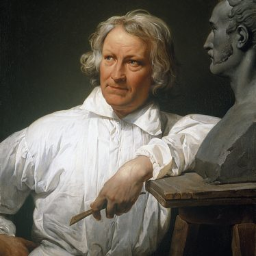Portrait of Bertel Thorvaldsen by Horace Vernet. | Image courtesy of the Thorvaldsen Museum, Copenhagen.