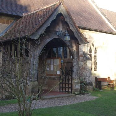 The porch at St Giles, Packwood. | Image courtesy of Caroline Irwin