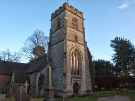 The Tower of Atonement, St Giles, Packwood. | Image courtesy of Caroline Irwin