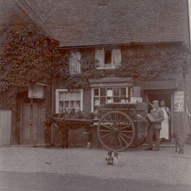 Wolston. Old Post Office.
