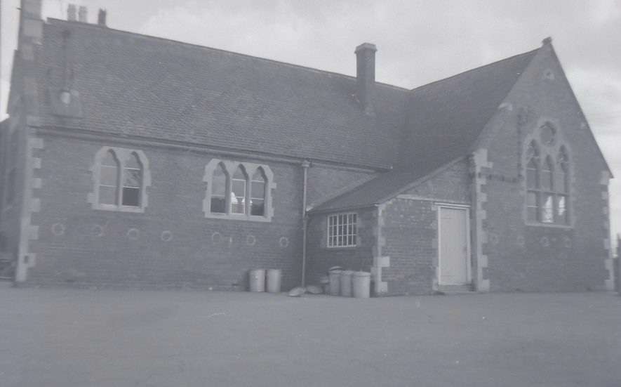 Brailes school (infants) 1967. | Warwickshire County Record Office reference PH212/12/49. Part of a photographic survey of Warwickshire parishes conducted by the Women's Institute.