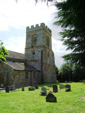 The north side of St Martin, Barcheston. | Image © Hilary L Turner