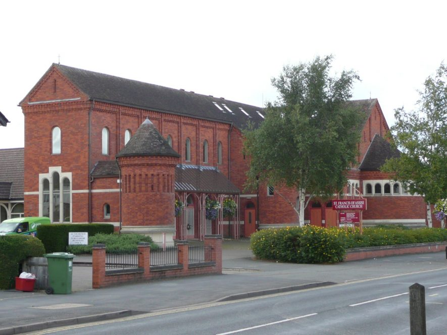 Roman Catholic Church of St Francis, Kenilworth. 2017. | Image courtesy of William Arnold