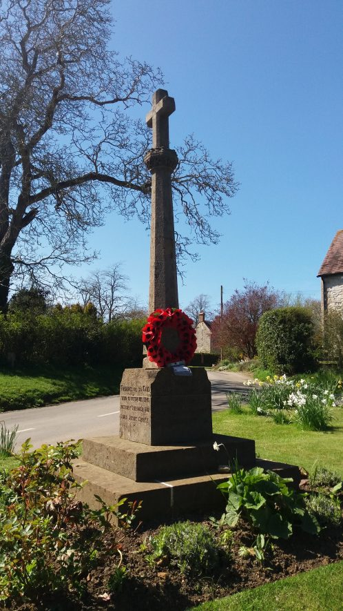 Pillerton Hersey war memorial, 2017. | Image courtesy of Sharon Dowd