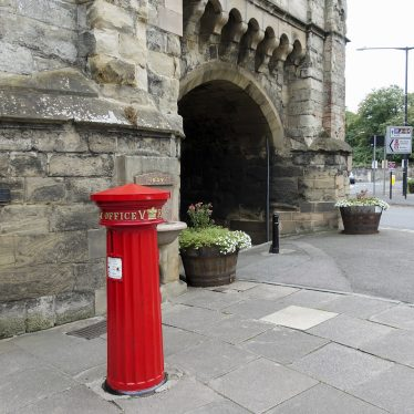 Victorian Pillar Box to E of Westgate