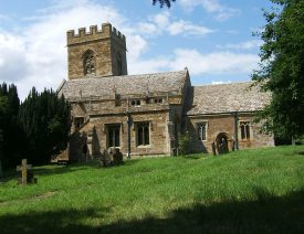The south side of St Martin, Barcheston. | Image © Hilary L Turner