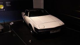 A TR7 at Coventry Transport Museum. | Image courtesy Benjamin Earl