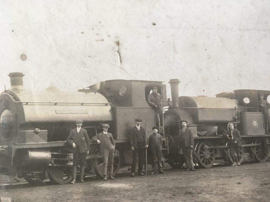 Exhall, nr Coventry. Engine, 'Enterprise'. c. 1915. | Image courtesy of Geoffrey Legh Jackson Dalzell-Payne