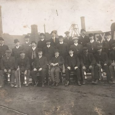 Exhall, nr Coventry. Colliery Mine Managers