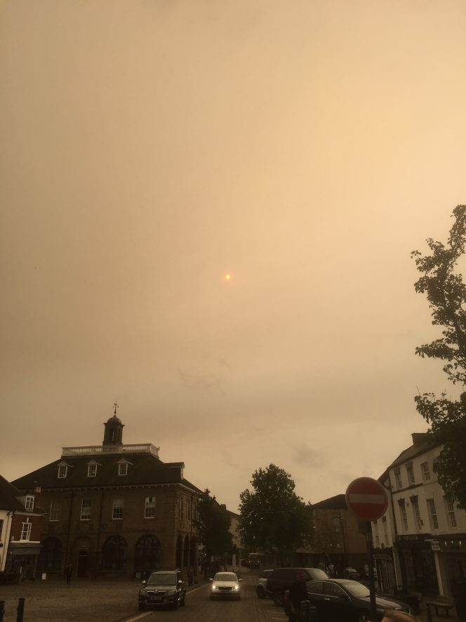Red Sun over Warwick | Heritage and Culture Warwickshire