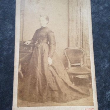 Photograph of a lady. Description of photograph is in main body text. | Image courtesy of Frances Lister