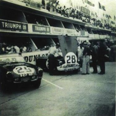 Race Day for Triumph at Le Mans