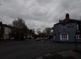 View looking along Emscote Road, Warwick.  2017. | Image courtesy of Benjamin Earl