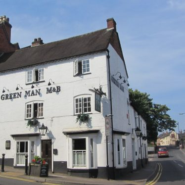 Green Man Hotel, High Street, Coleshill