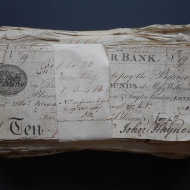 Alcester Bank Banknotes, 1801-1802