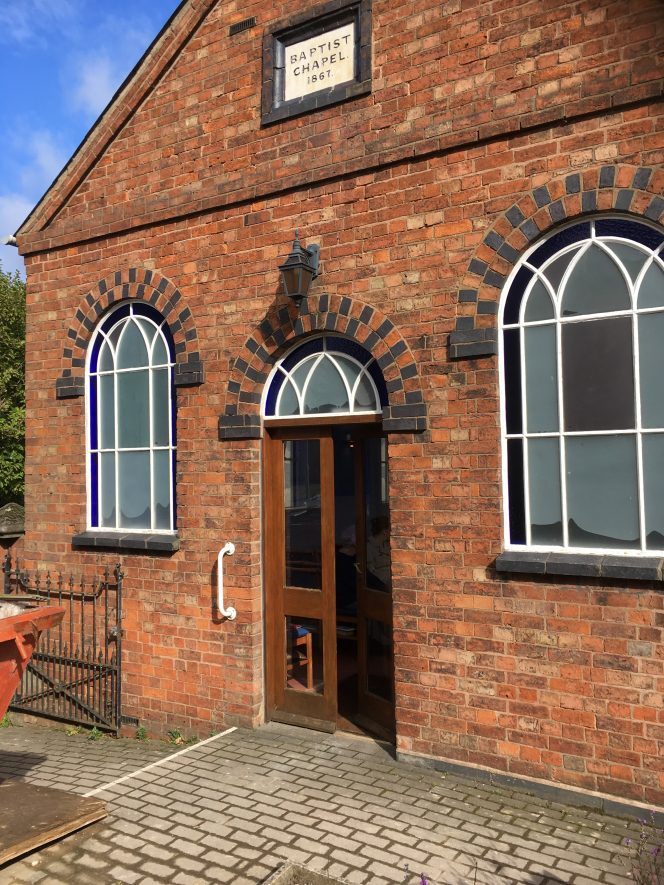 Shilton Baptist Chapel   Image courtesy of Wendy Atkinson