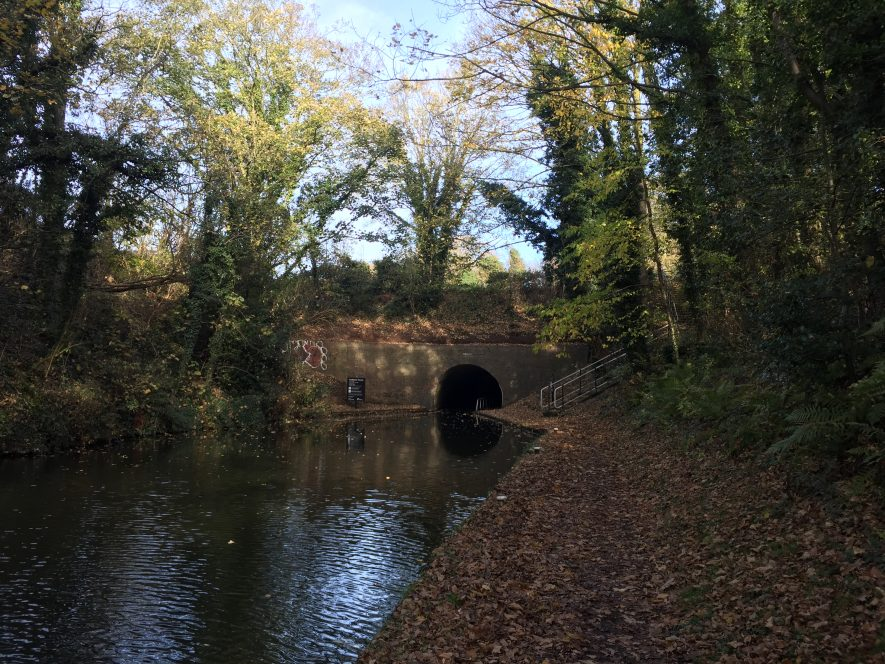 Curdworth tunnel SW entrance, Birmingham and Fazeley Canal. 2017. | Image courtesy of Lou Richards