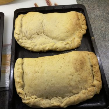 The finished apple pasties. | Image courtesy of Carolyn Ewing