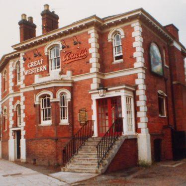 Farewell to the Great Western in Warwick